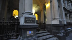 Supreme Court of Victoria front steps