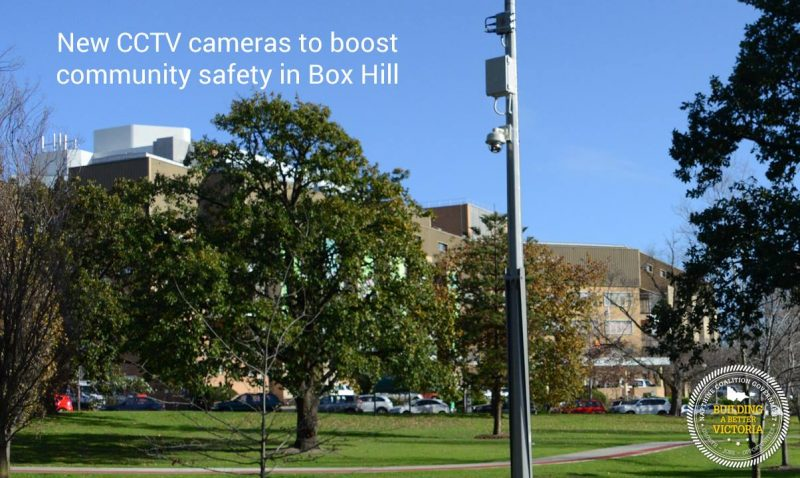 New CCTV cameras to boost community safety in Box Hill