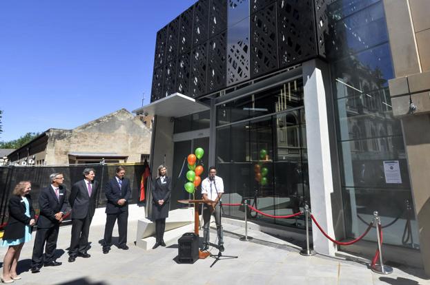 Opening of new Bendigo court building