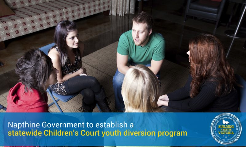 Statewide youth diversion program