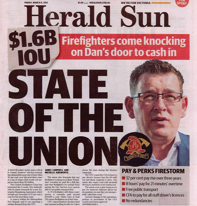 Herald Sun State of the Union
