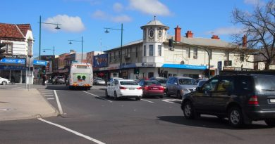 Whitehorse Rd and Station St intersection