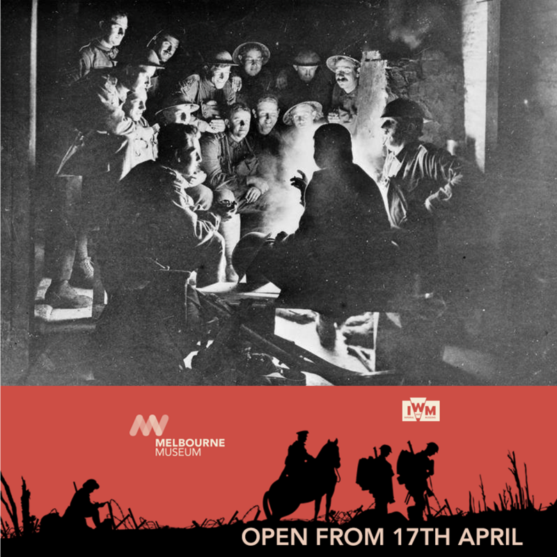 Melbourne Museum WW1 Exhibition