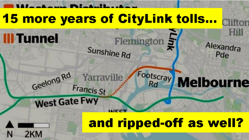 15 more years of tolls, and ripped off fpr Western Distributor?