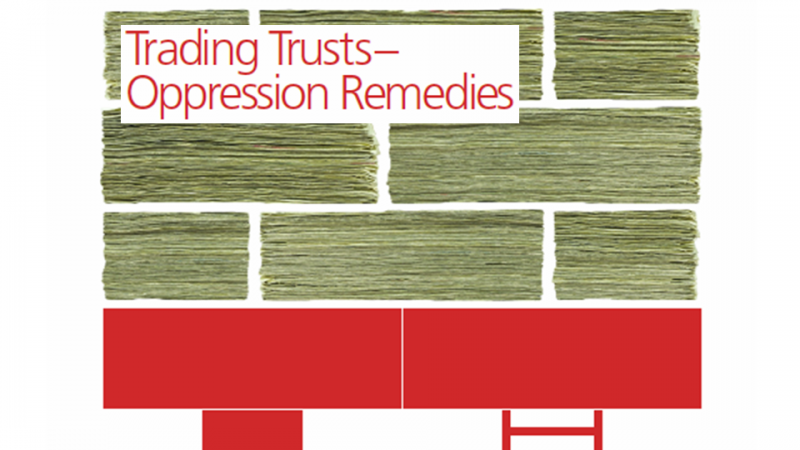 Trading Trust Oppression Remedies