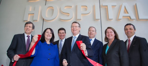 Opening of Box Hill Hospital redevelopment 1 August 2014