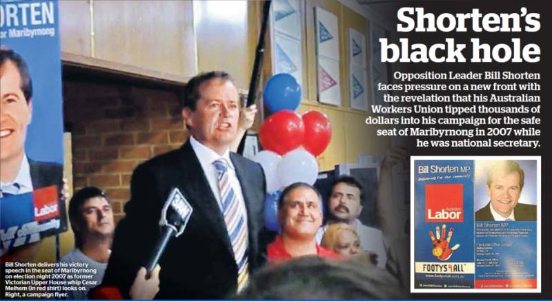 Bill Shorten's black hole