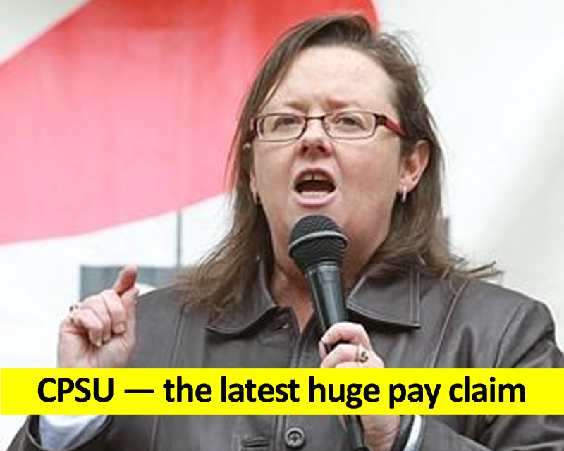 CPSU - the latest huge pay claim