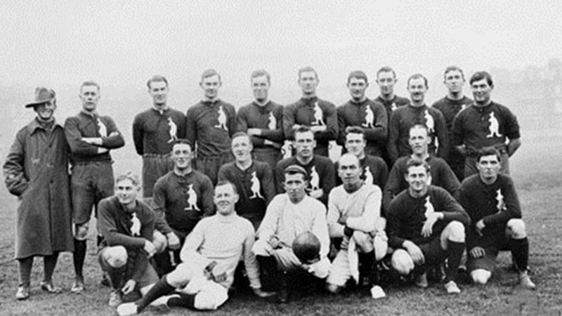 Exhibition Football Game October 1916
