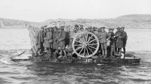 Gallipoli evacuation raft