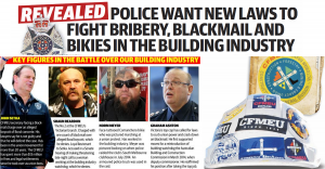 Police call for action on CFMEU