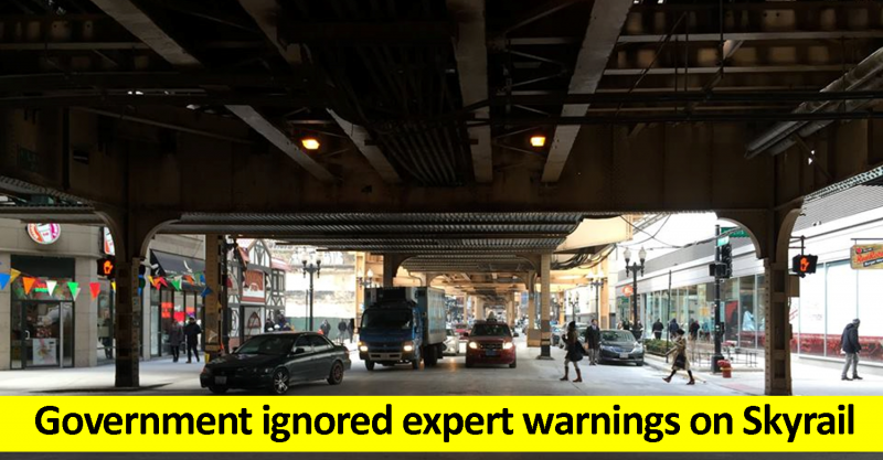 Government ignores experts on Skyrail