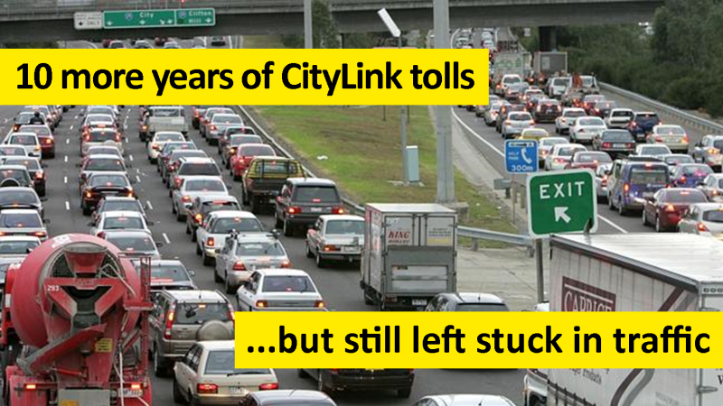 10 more years of tolls, but still left stuck in traffic