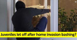 Juveniles let off after home invasion bashingv2