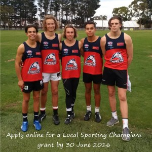 Local Sporting Champion Grants - Blackburn