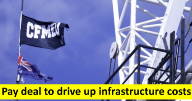 Pay deal to drive up infrastructure costs