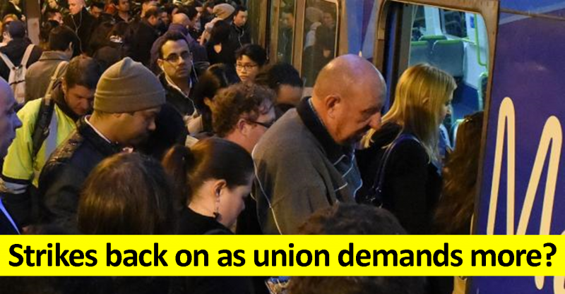 Strike threat back on as rail union demands more