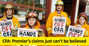 Premier's claims can't be be believed