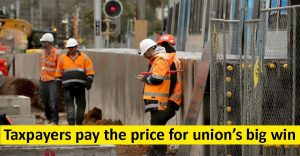 Taxpayers pay the price for union's big win