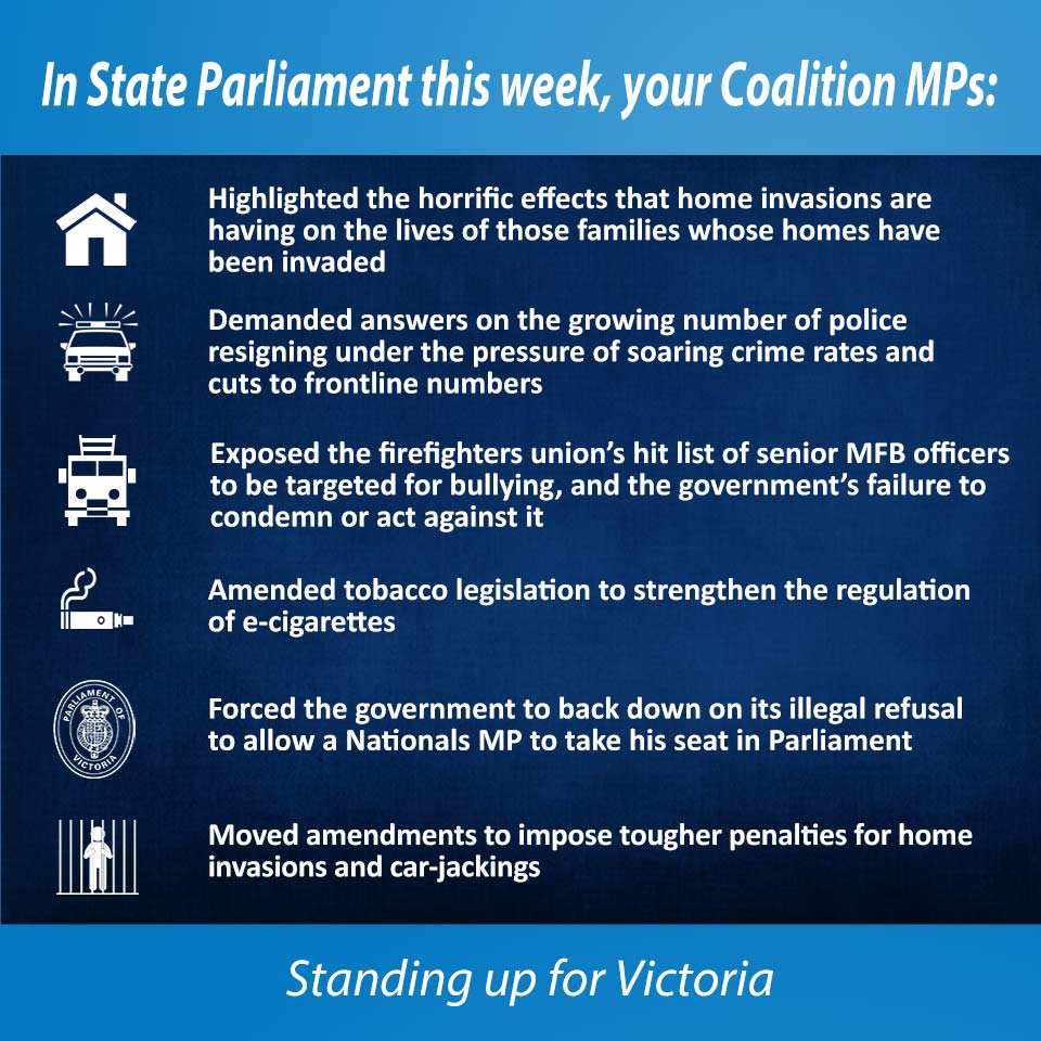 This week in Parliament 13 Oct 2016