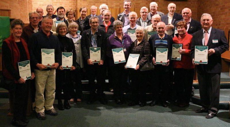 Neighbourhood Watch Whitehorse service awards