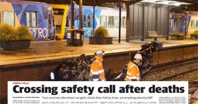 Call for Surrey Hills level crossing safety