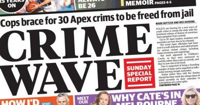 Apex gang crime wave