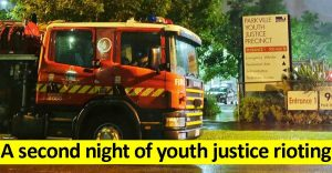 Second night of youth justice riots