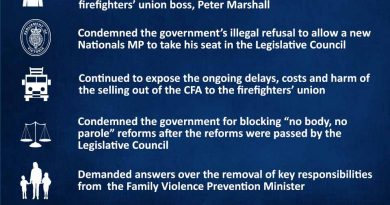 This week in Parliament 18 August 2016