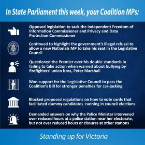 This week in Parliament - 1 September 2016