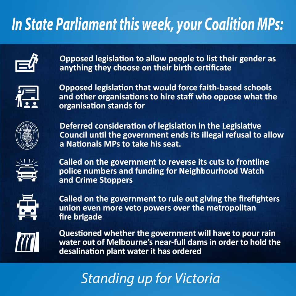 This week in Parliament 15 September 2016