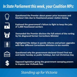 This week in Parliament 10 November 2016