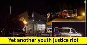 Yet another youth justice riot