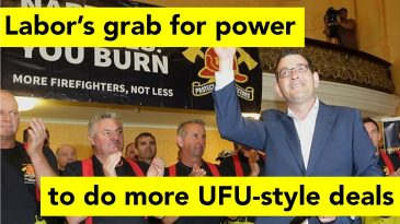 Labor seeks power for more UFU-style deals with unions