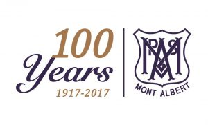 Mont Albert Primary School Centenary logo