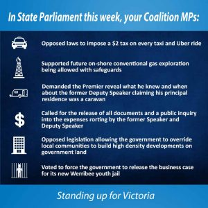 This week in Parliament - 9 March 2017