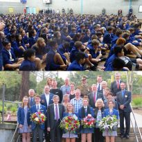 Koonung Secondary Collage ANZAC school assembly 2017