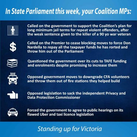 This week in State Parliament - 11 May 2017