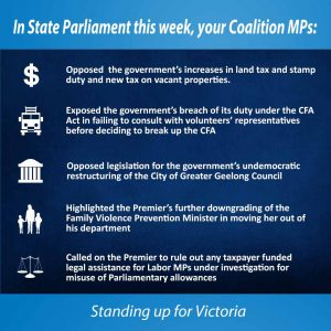 This week in Parliament - 25 May 2017