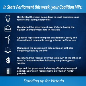 This week in Parliament 21 Sept 2017