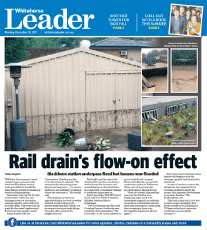 Rail drain's flow-on effect