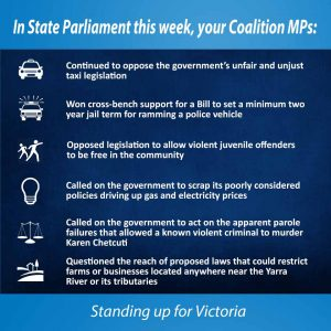 This week in Parliament - 10 August 2017