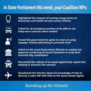 This week in Parliament 24 August 2017