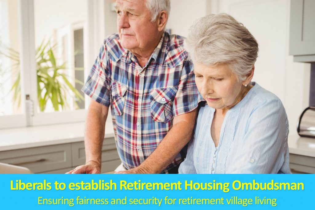 Liberals to establish retirement housing ombudsman