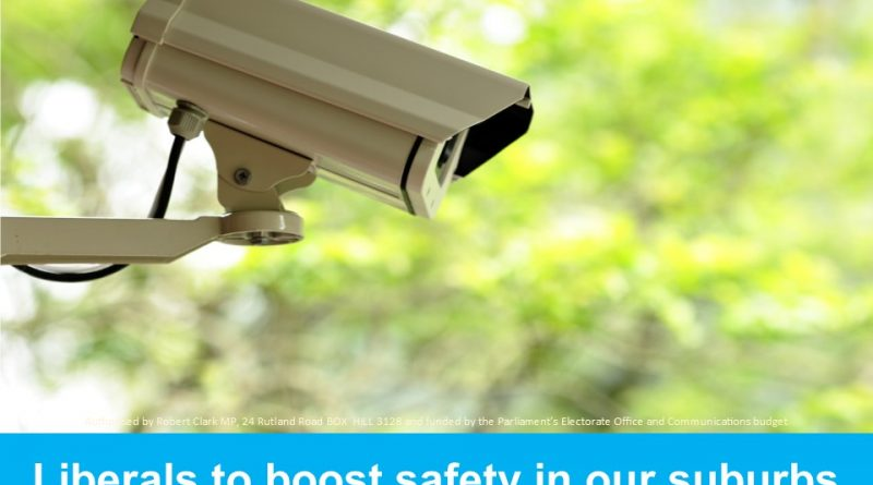 Liberals to boost security cameras