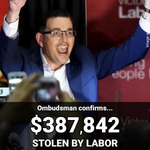 Labor rort, you pay