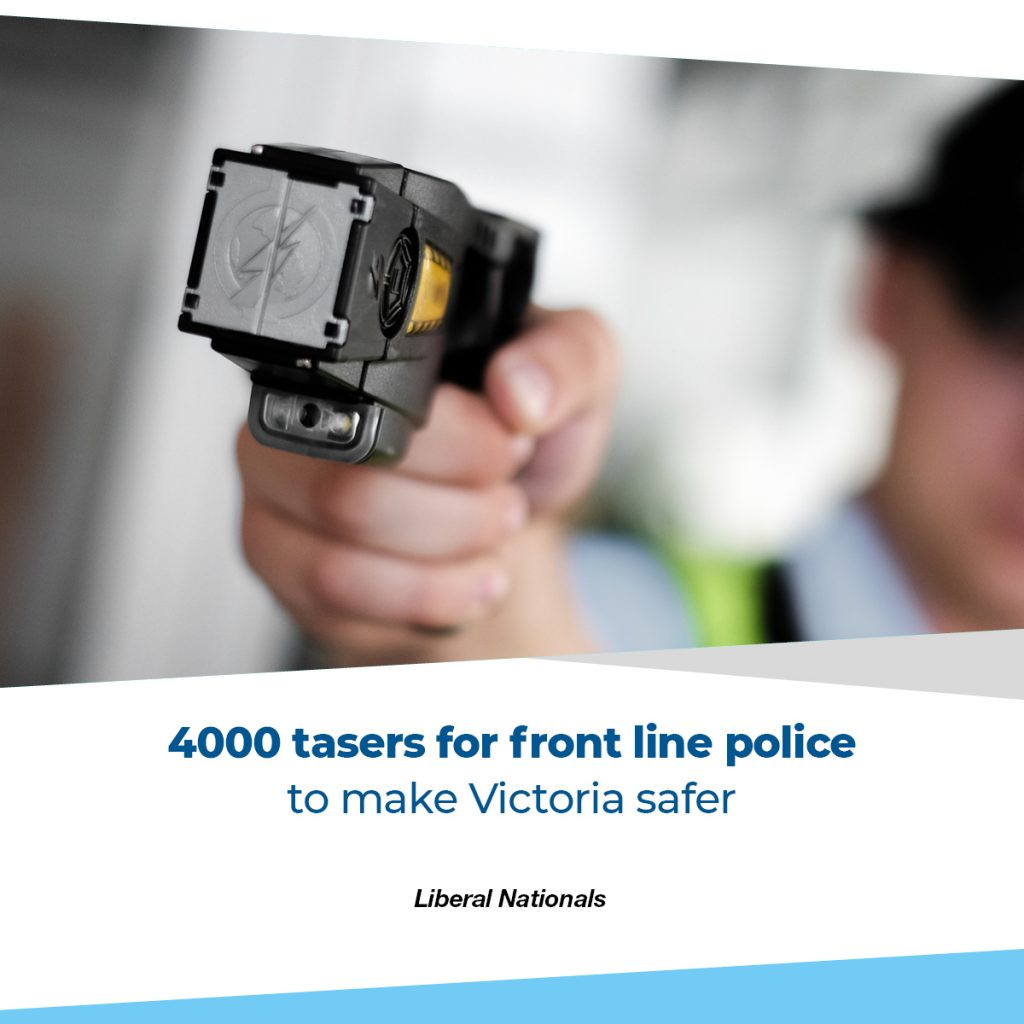 4000 tasers for Victoria Police