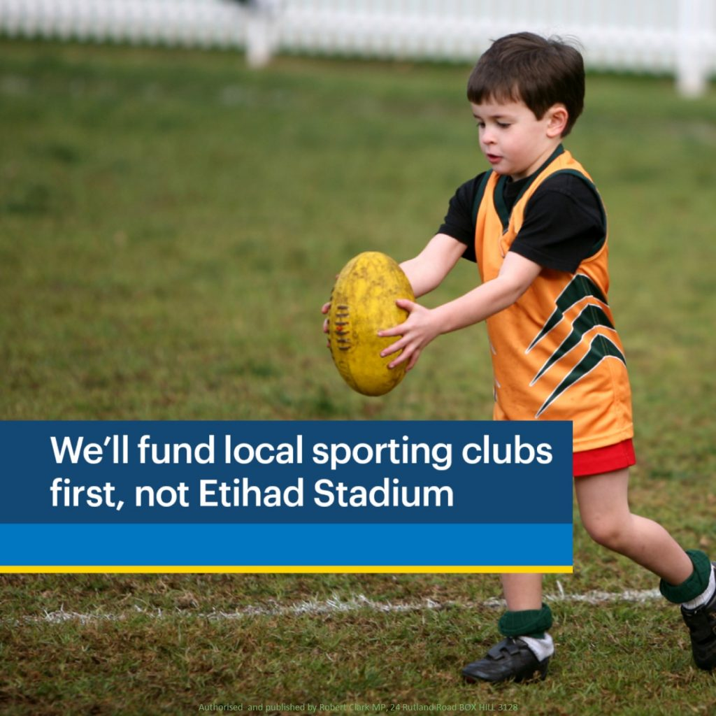Liberals' $195 million grassroots sports funding
