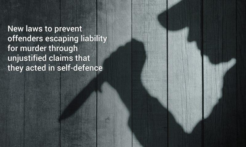 Abolishing defensive homicide