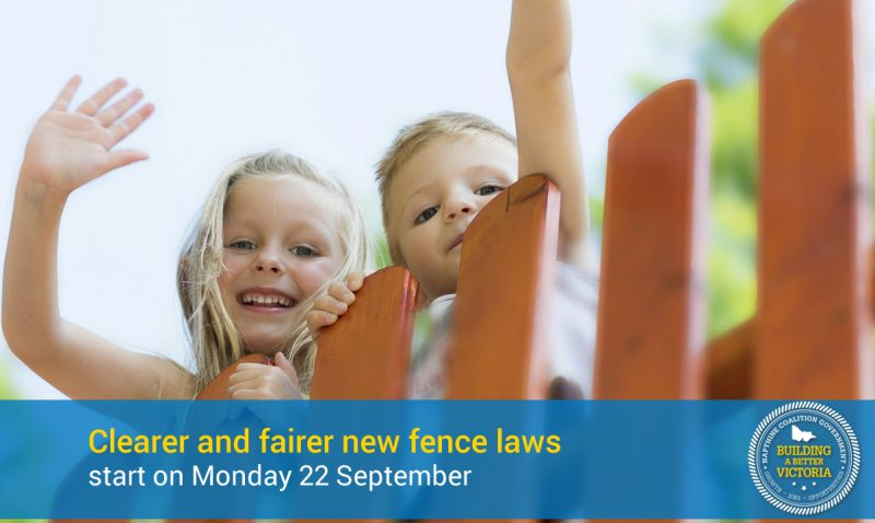 Clearer and fairer fence laws